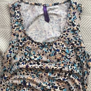Seraphine UK Maternity Floral Bodycon Dress US 10